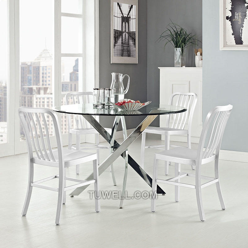 Wholesale barstool navy dining chairs Tuwell Brand
