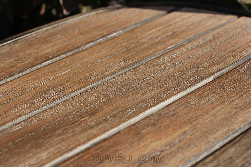 Tuwell-Tw8081 Aluminum Cross Back Chair | Cross Back Cafe Chair | Cross Back Chair-6
