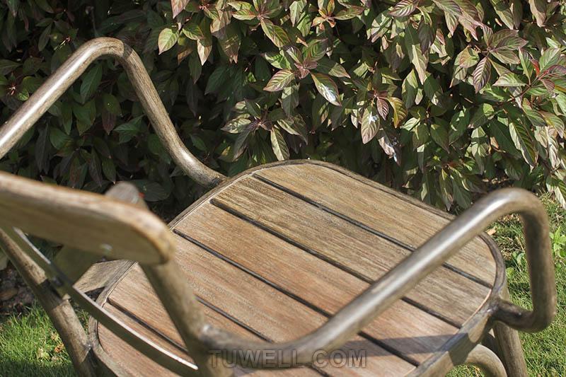 Tuwell-Tw8081 Aluminum Cross Back Chair | Cross Back Cafe Chair | Cross Back Chair-7