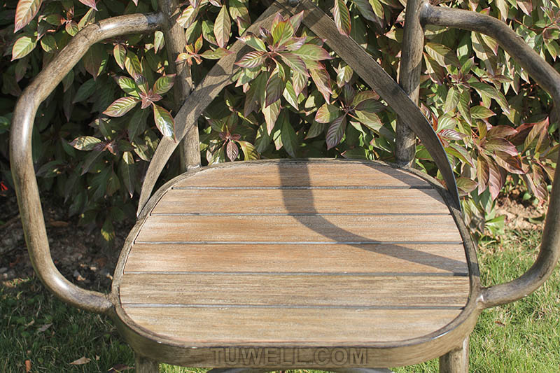 Tuwell-Tw8081 Aluminum Cross Back Chair | Cross Back Cafe Chair | Cross Back Chair-8