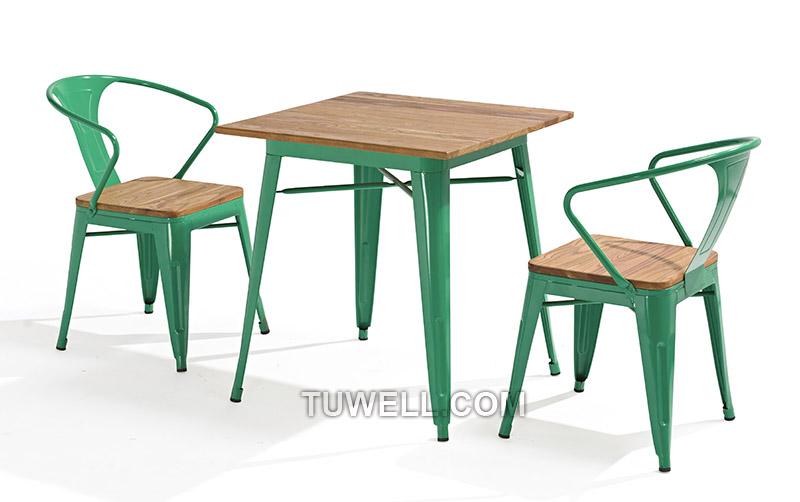 Tuwell-Best Tw8012 Steel Tolix Chair Galvanized Tolix Chair-4