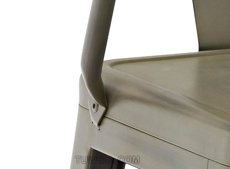 Tuwell-Best Tw8012 Steel Tolix Chair Galvanized Tolix Chair-7