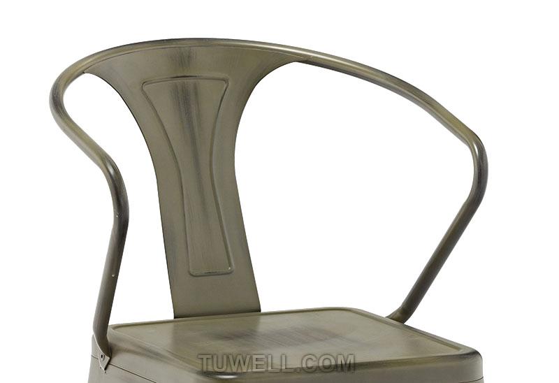 Tuwell-Best Tw8012 Steel Tolix Chair Galvanized Tolix Chair-9