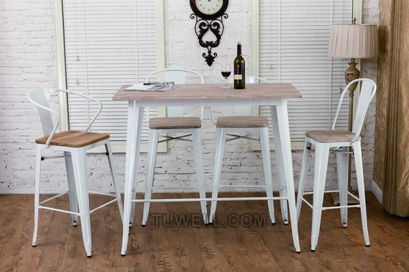 Tuwell-Best Tw8012 Steel Tolix Chair Galvanized Tolix Chair-14