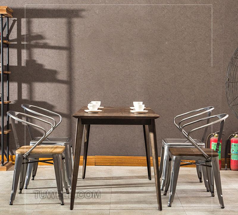 Tuwell-Best Tw8012 Steel Tolix Chair Galvanized Tolix Chair-15