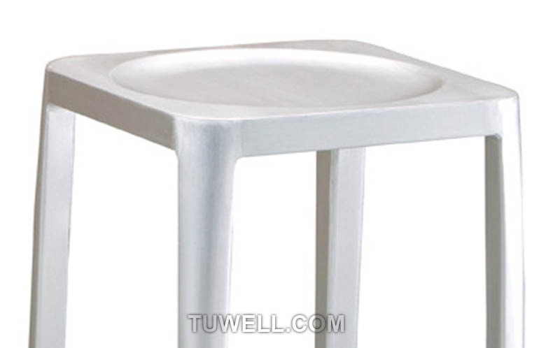 Tuwell-High Quality Tw1010-l Emeco Navy Square Barstool | Navy Chair-8