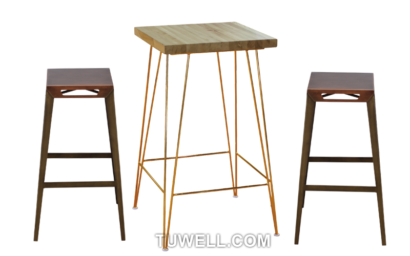 Tuwell-Tw8088-l Steel Bar Stool | Steel Chair | Tuwell Industrial Limited-4