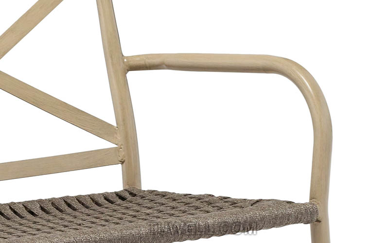 Tuwell-Find TW8707 Aluminum double seat rope chair-7