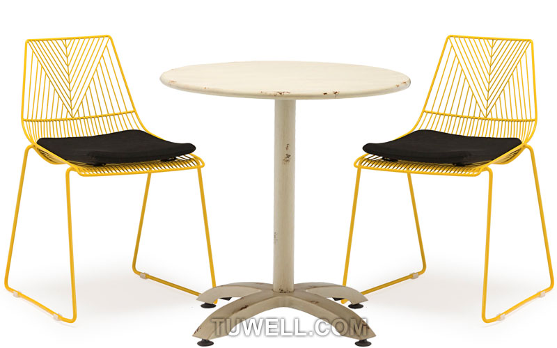 Tuwell-High Quality TW8601 Steel Wire Chair | Wire Chair-4