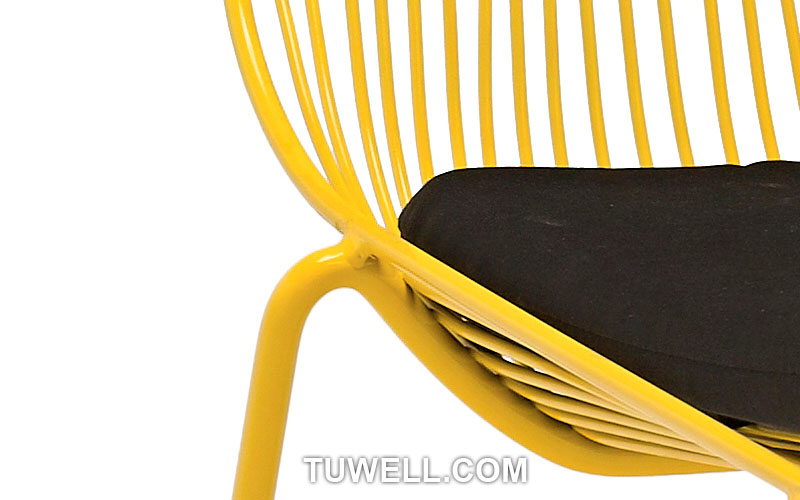 Tuwell-High Quality TW8601 Steel Wire Chair | Wire Chair-8