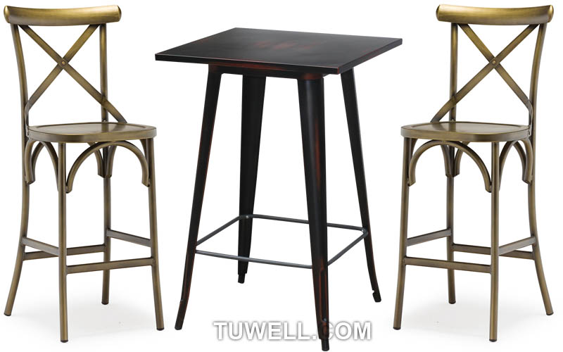 Tuwell-Professional Tw8022-l Aluminum Cross Back Chair Supplier-4