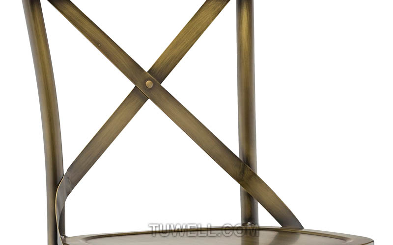 Tuwell-Professional Tw8022-l Aluminum Cross Back Chair Supplier-6
