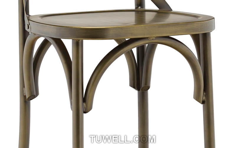 Tuwell-Professional Tw8022-l Aluminum Cross Back Chair Supplier-8