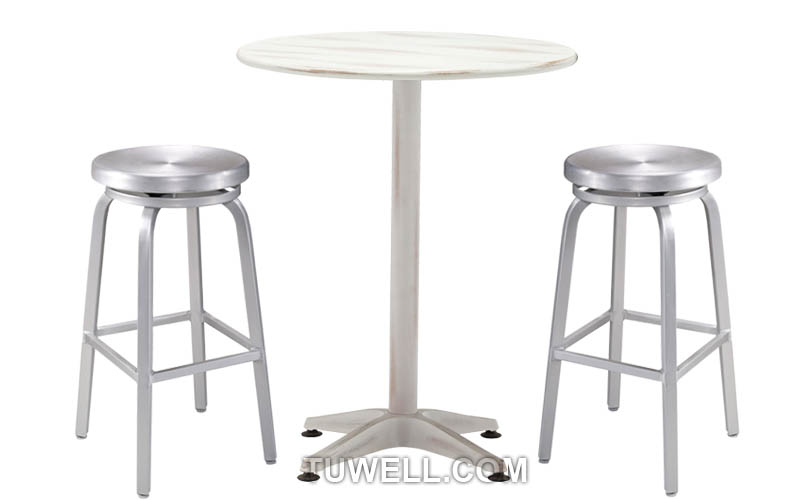 Tuwell-Professional Tw1009-l Emeco Navy Barstool Supplier-4