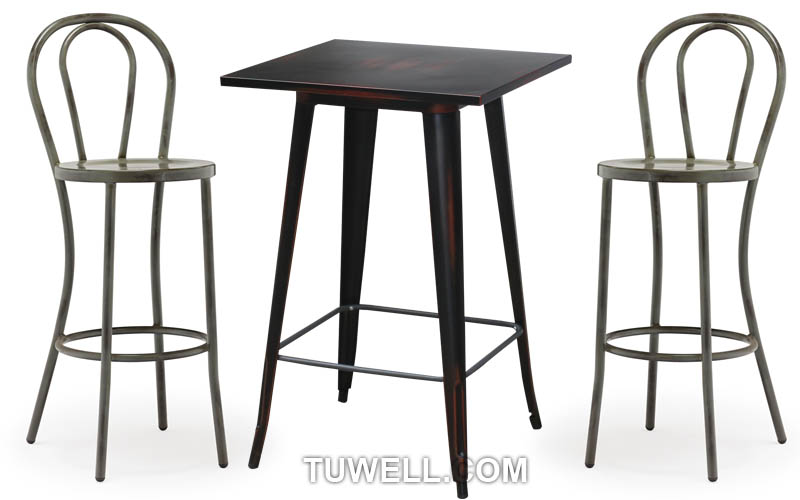 Tuwell-Find Tw8013-l Aluminum Thonet Barchair-4
