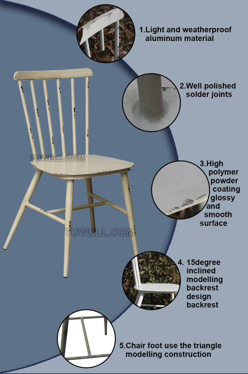 Tuwell-Tw8101 Aluminum Windsor Chair - Tuwell Industrial Limited-5