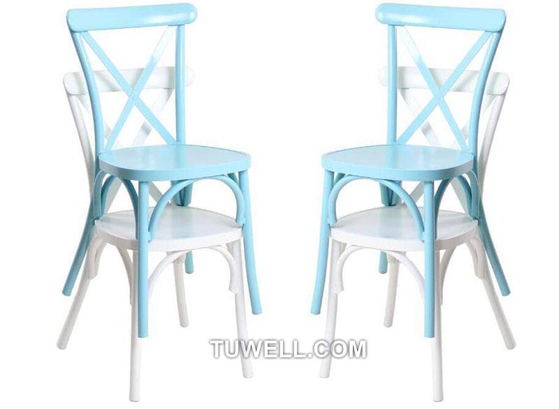 Tuwell-Tw8080-b Aluminum Cross Back Chair-13