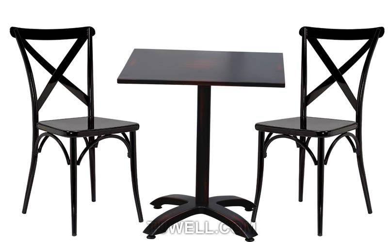 Tuwell-Find Tw8092 steel Cross Back Chair-4