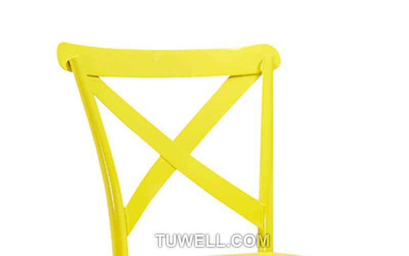 Tuwell-Find Tw8092-l steel Cross Back Bar Chair-6