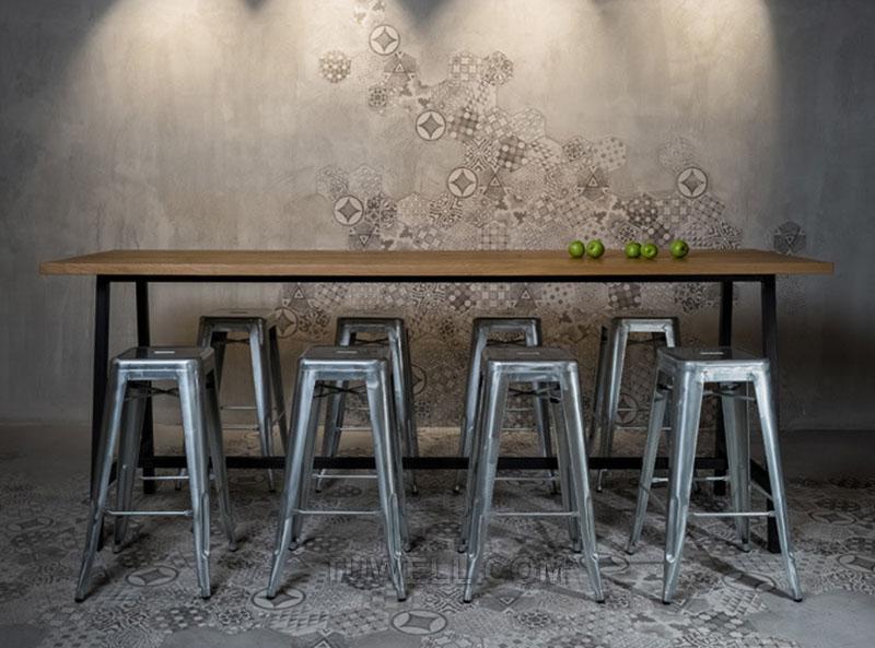 Tuwell-Tw8010 Steel Tolix Barstool | Tolix Chair Original | Tolix Chair-9