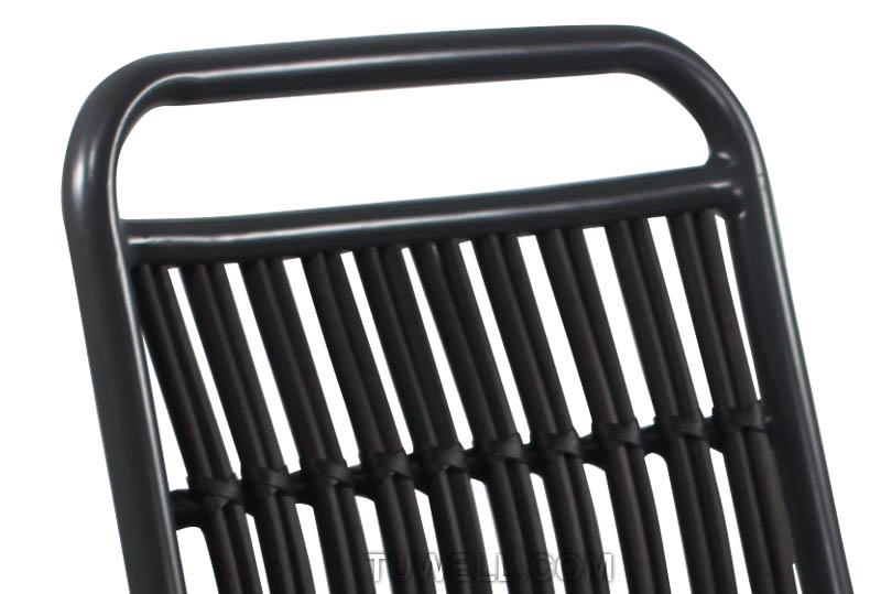Tuwell-Best Tw8109 Aluminum Rattan Chair Manufacture-6