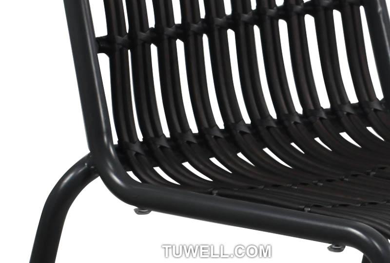 Tuwell-Best Tw8109 Aluminum Rattan Chair Manufacture-7