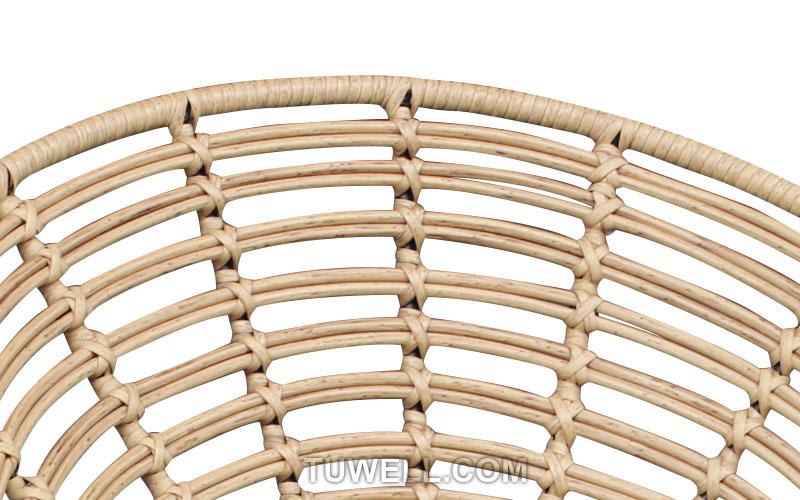 Tuwell-Find TW8712 Steel Rattan Chair-6