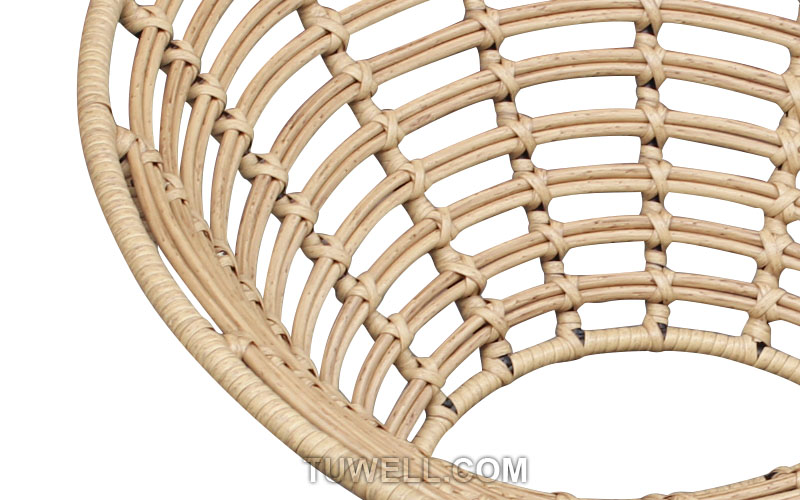 Tuwell-Find TW8712 Steel Rattan Chair-7
