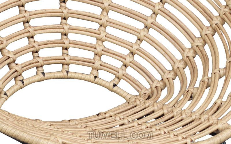 Tuwell-Find TW8712 Steel Rattan Chair-8
