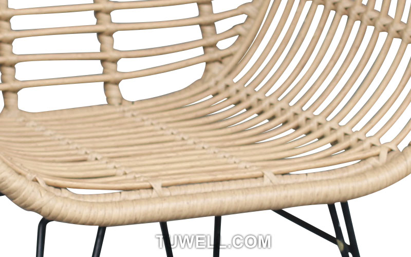 Tuwell-Find TW8711 Steel Rattan Chair-7