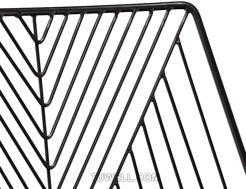 Tuwell-High Quality Tw8613-l Metal Wire Bar Chair | Wire Chair-6