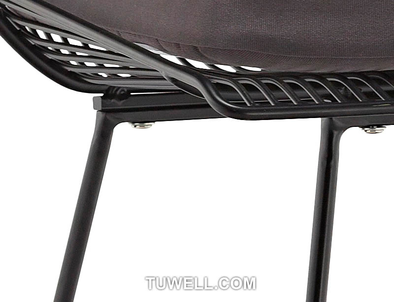 Tuwell-High Quality Tw8613-l Metal Wire Bar Chair | Wire Chair-7