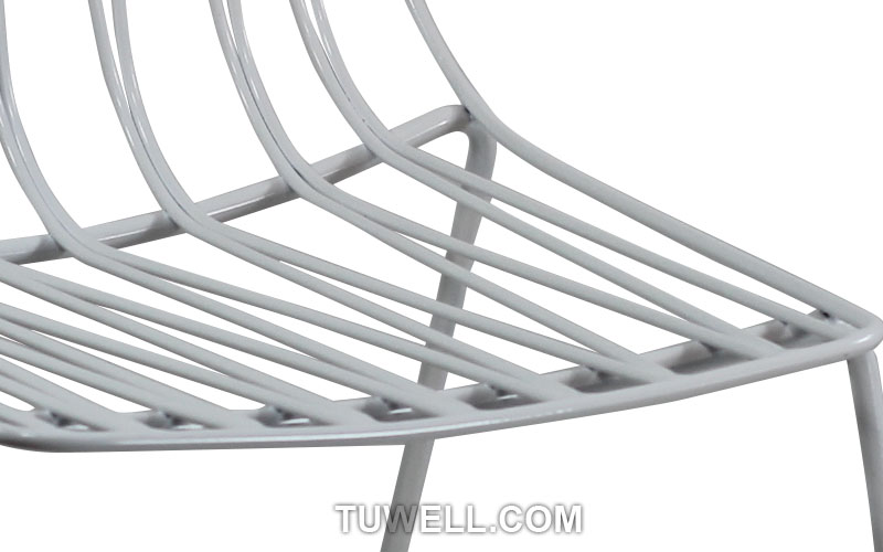 Tuwell-Tw8618 Steel Wire Chair | Metal Wire | Wire Chair-5