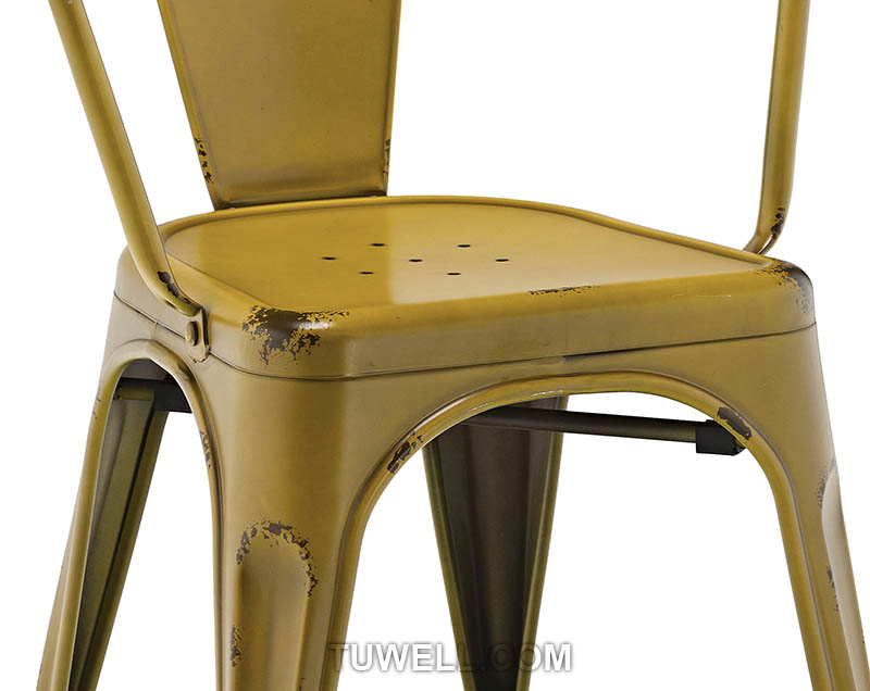 Tuwell-Tw8002 Steel Tolix Chair | Tolix Chair Pad | Tolix Chair-8