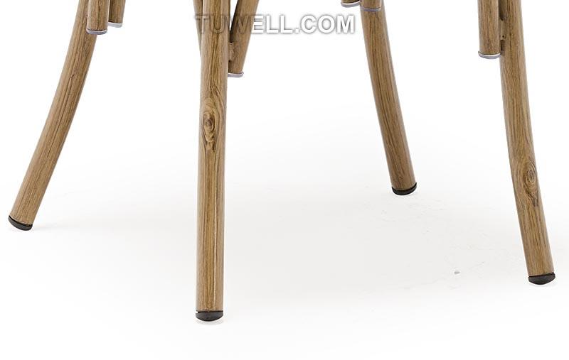 design back metal Tuwell Brand cross back chairs wholesale factory