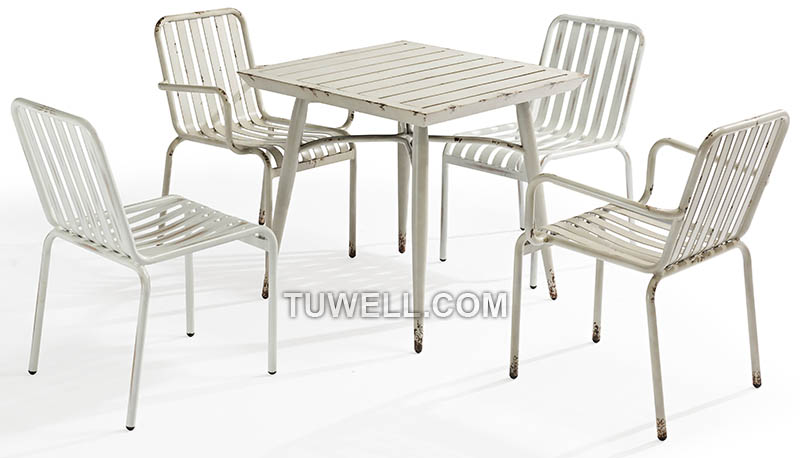 Tuwell-Find Tw8104 Aluminum Chair | Aluminum Outdoor Chairs-4