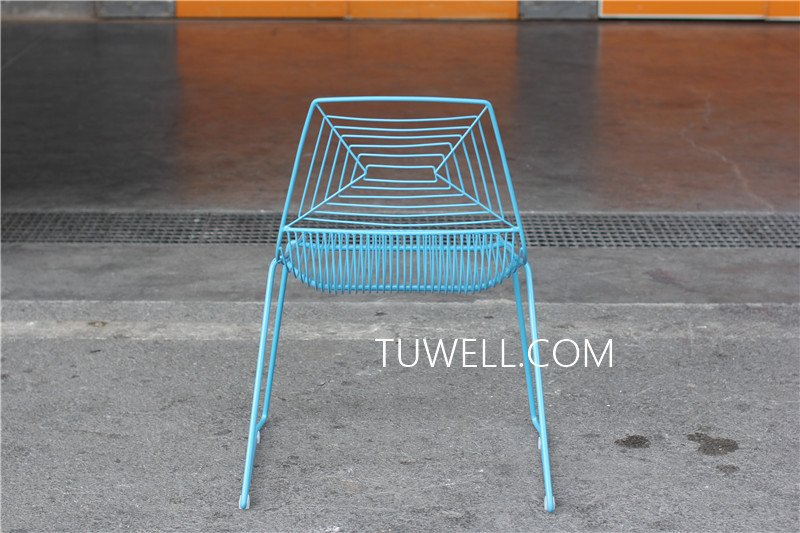 Tuwell-High Quality TW8601 Steel Wire Chair | Wire Chair-5