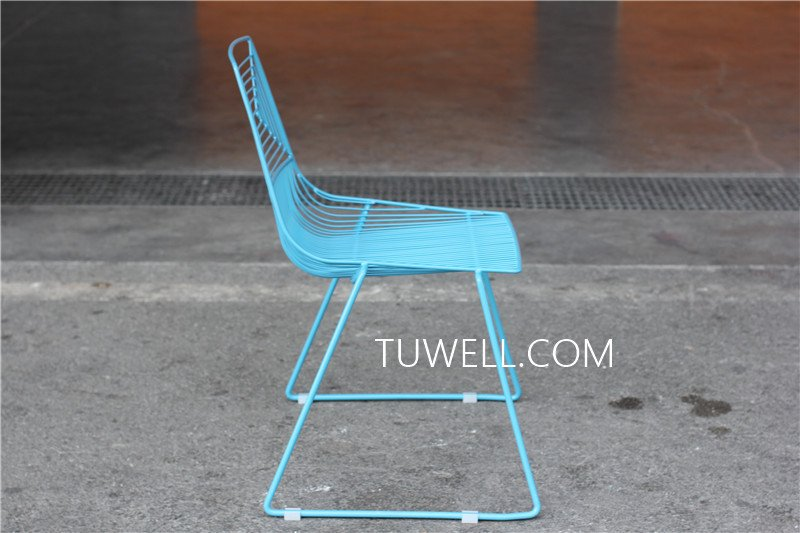 Tuwell-High Quality TW8601 Steel Wire Chair | Wire Chair-6