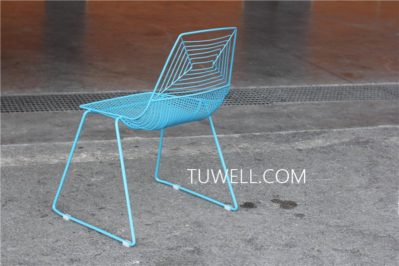 Tuwell-High Quality TW8601 Steel Wire Chair | Wire Chair-7