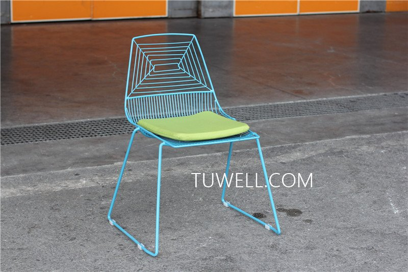 Tuwell-High Quality TW8601 Steel Wire Chair | Wire Chair-9