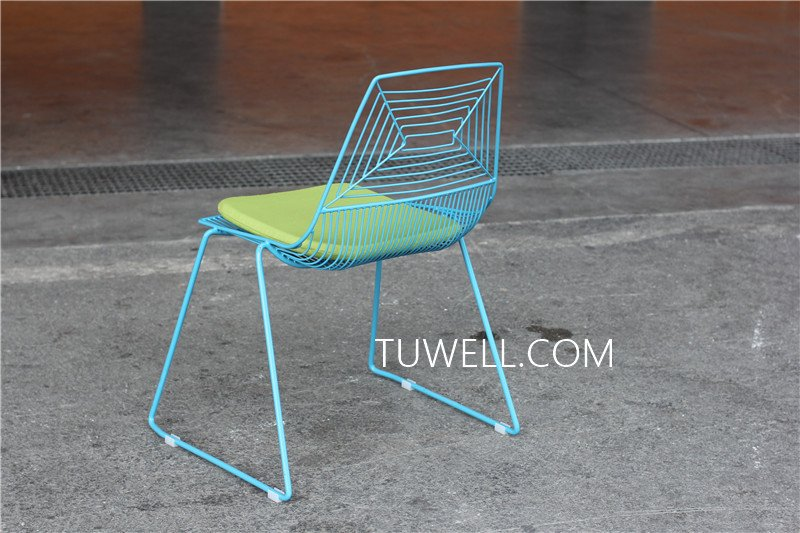 Tuwell-High Quality TW8601 Steel Wire Chair | Wire Chair-10