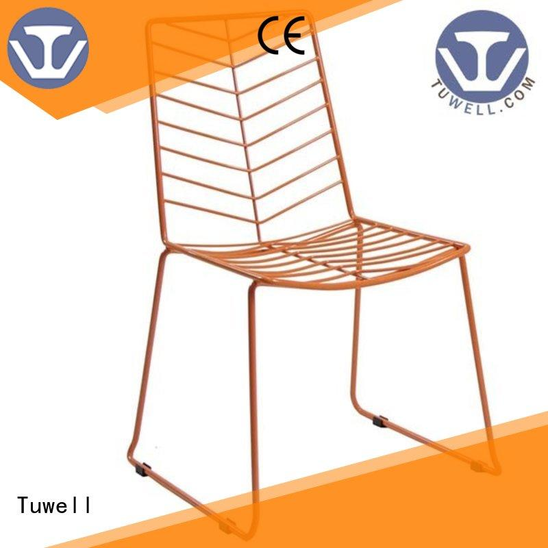 durable woven wire chair manufacturer for outdoor Tuwell