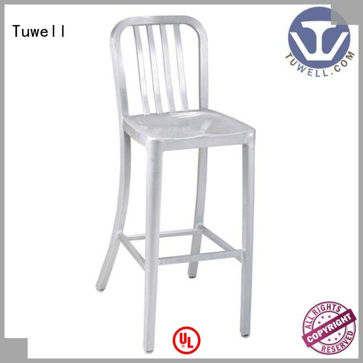Tuwell industrial style navy blue chair supplier for bar