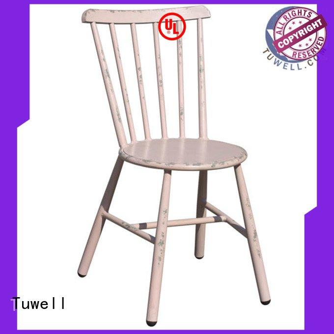 aluminum ODE Tuwell black windsor chairs