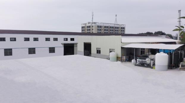 Courtyard square of our factory