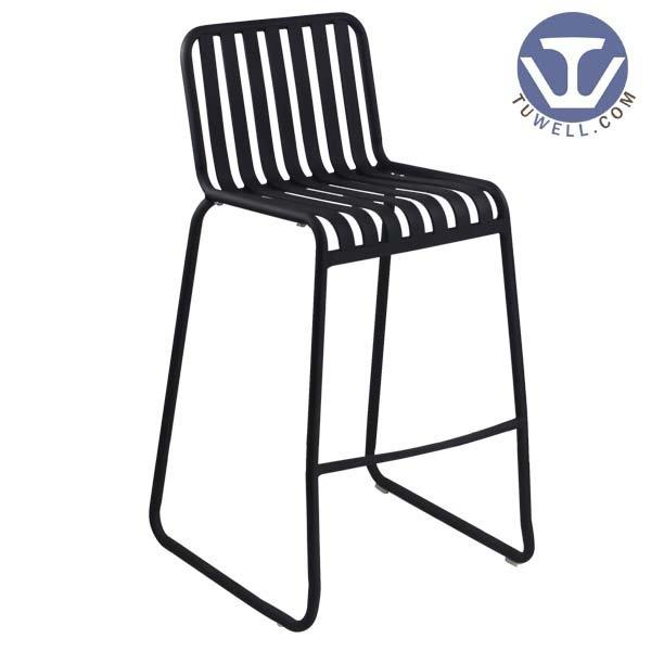 TW8105-L Aluminum bar chair aluminum outdoor bar chair