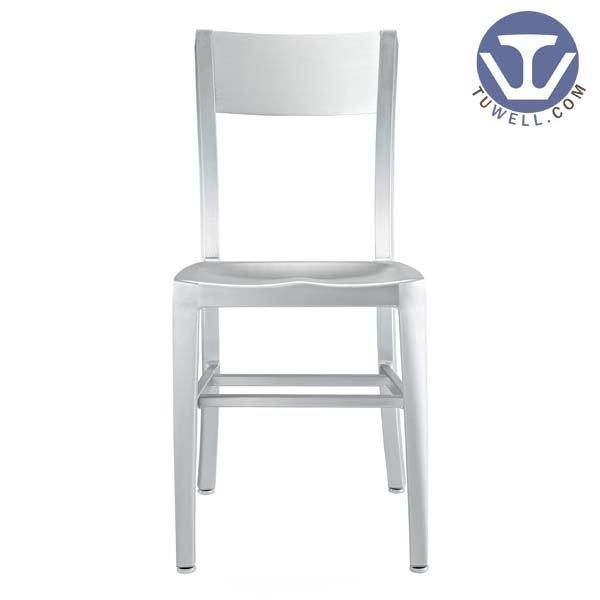 TW1006 Aluminum Navy Chair indoor and outdoor dining American industrial style