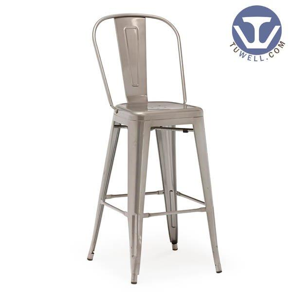 TW8001-L Steel Tolix barchair cafe bar chair