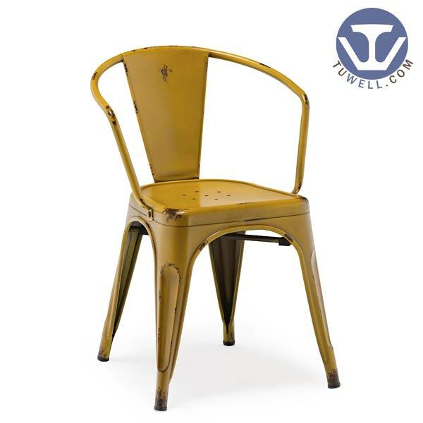 TW8002 Steel Tolix chair, dining chair