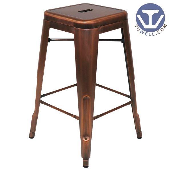 TW8003-L Steel Tolix barstool, Dining barstool, restaurant chair, bistro barstool, steel batstool
